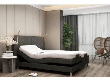 Westfalia Schlafkomfort Boxbett, mit Motor und LED-Beleuchtung, schwarz