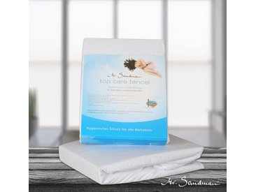 Matratzenschutzbezug »Top Care Tencel™S« Mr. Sandman, weiß, 100 cm x 200 cm