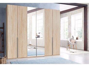 Wimex Kleiderschrank »New York« mit Schubkasteneinsatz und Einlegeböden, beige, 270 cm x 208 cm x 58 cm