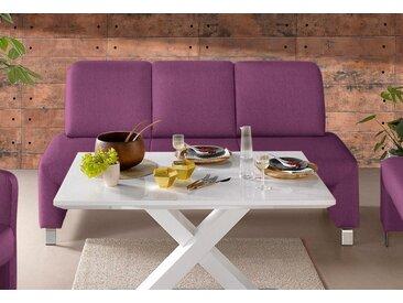 exxpo - sofa fashion Polsterbank, lila, Struktur