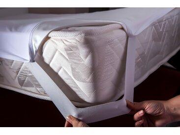 Matratzenschutzbezug »Top Care Jersey E« Mr. Sandman, weiß, 200 cm x 200 cm