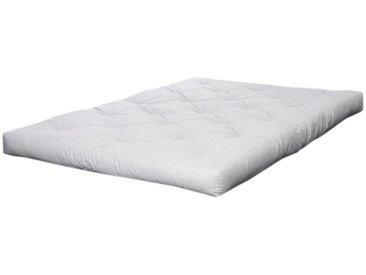 Futonmatratze, Karup Design, 18 cm hoch, weiß, 140 cm x 200 cm x 18 cm