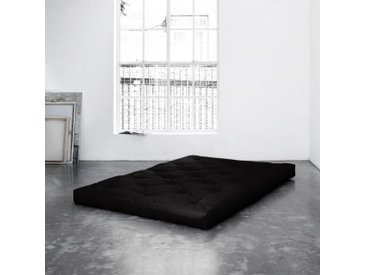 Futonmatratze, Karup Design, 16 cm hoch, schwarz, 140 cm x 200 cm x 16 cm