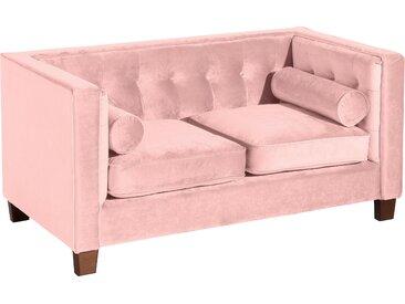Max Winzer® 2-Sitzer »Jobbi«, mit Steppung im Rücken, inklusive 2 Kissenrollen, Breite 154 cm, rosa