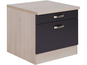 OPTIFIT Unterschrank »Elm« für Waschmaschine oder Trockner, Breite 60 cm, grau