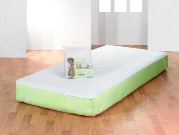 Matratzenschutzbezug »Safe« f.a.n. Frankenstolz, Normal, weiß, 120 cm x 200 cm