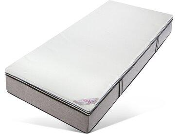 Matratzenschoner »Queens«, my home, 5 cm hoch, Raumgewicht: 50, Viscoschaum, hohe Druckentlastung - ideal für jede Schlafposition, weiß, 100 cm x 200 cm x 5 cm