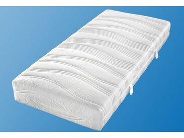 Matratzenersatzbezug »Doppeltuch« Malie, in verschiedenen Höhen, weiß, 80 cm x 190 cm