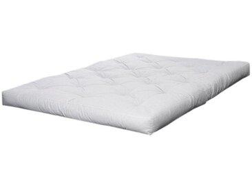 Futonmatratzen, Karup Design, 18 cm hoch, weiß, 180 cm x 200 cm x 18 cm