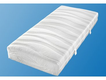 Matratzenersatzbezug »Doppeltuch« Malie, in verschiedenen Höhen, weiß, 120 cm x 200 cm