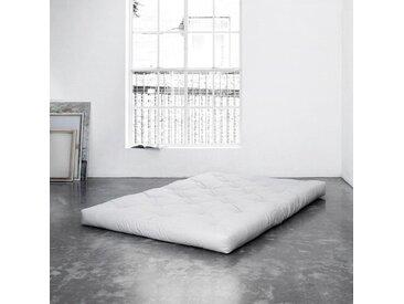 Futonmatratze, Karup Design, 16 cm hoch, weiß, 140 cm x 200 cm x 16 cm
