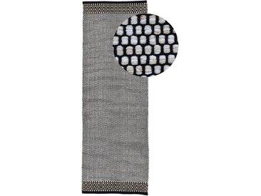 Läufer »Kelim Mia«, carpetfine, rechteckig, Höhe 6 mm, reine Baumwolle, beige, 60 cm x 180 cm x 6 mm