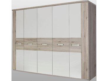 FORTE Kleiderschränke »Rondino« wahlweise mit oder ohne LED-Beleuchtung