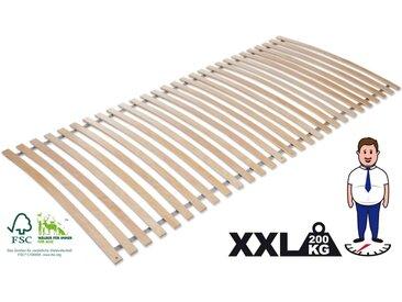 Rollrost, »Basic Comfort«, Jekatex, 28 Leisten, Kopfteil nicht verstellbar, Fußteil nicht verstellbar, Belastbar bis 200kg, 140 cm x 200 cm x 4 cm