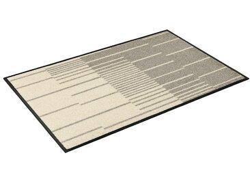 Fußmatte »Linus«, wash+dry by Kleen-Tex, rechteckig, Höhe 7 mm, Fussabstreifer, Fussabtreter, Schmutzfangläufer, Schmutzfangmatte, Schmutzfangteppich, Schmutzmatte, Türmatte, Türvorleger, In- und Outdoor geeignet, waschbar, beige
