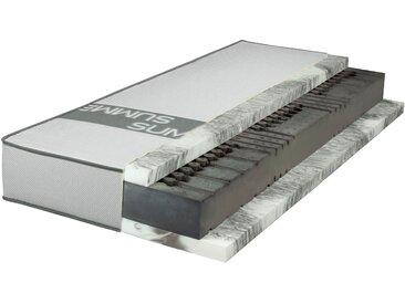 Gelschaummatratze »SMARTSLEEP® 10000 LaPur® Gel«, Breckle, 23 cm hoch, Raumgewicht: 55, Premiumqualität ohne Kompromisse - für Schwitzer !, weiß, 80 cm x 200 cm x 23 cm