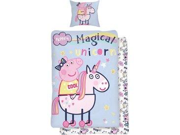 Kinderbettwäsche »Magical Unicorn«, mit Einhorn, Neckermann, bunt
