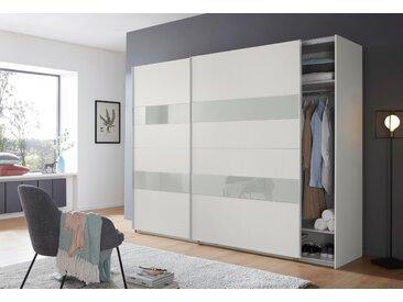 Wimex Schrank mit Schwebetüren »Altona« mit Glaselementen und zusätzlichen Einlegeböden, weiß, 270 cm x 208 cm x 65 cm