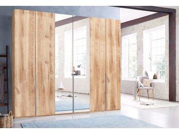Wimex Kleiderschrank »New York« mit Schubkasteneinsatz und Einlegeböden, beige, 270 cm x 236 cm x 58 cm