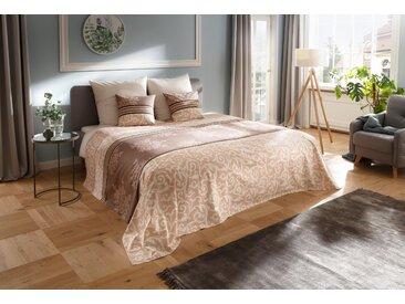 Tagesdecke »Bela«, my home, auch als Tischdecke und Sofaüberwurf einsetzbar, beige, 140 cm x 210 cm