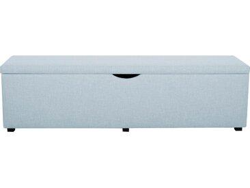 Places of Style Hockerbank »Standard«, mit Stauraum, Breite 120 cm oder 160 cm, auch als Garderobenbank oder Bettbank geeignet, grün, Struktur, 120 cm x 42 cm x 40 cm