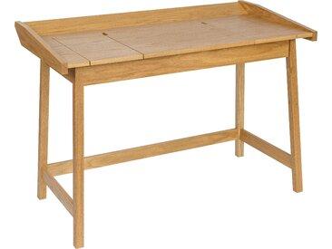 Woodman Schreibtisch »Walter«, mit 3 Klappen, beige