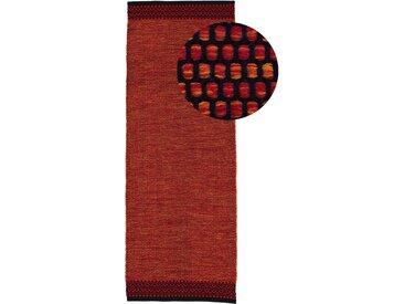 Läufer »Kelim Mia«, carpetfine, rechteckig, Höhe 6 mm, reine Baumwolle, rot, 75 cm x 200 cm x 6 mm