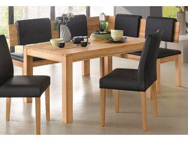 Premium collection by Home affaire Eckbank »Madison«, wahlweise aus massiver Buche oder Eiche, beige, 180 cm x 89 cm x 150 cm