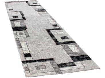 Läufer »Florenz 8529«, Paco Home, rechteckig, Höhe 16 mm, Teppich-Läufer, gewebt, Designer Teppich mit Konturenschnitt, grau