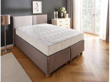 Boxspringmatratze »Luther Weiß«, DELAVITA, 24 cm hoch, Raumgewicht: 40, bietet den perfekten Wohlfühlkomfort, 90 cm x 200 cm x 24 cm