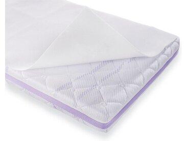 Matratzenauflage »Air«, Träumeland, 1 cm hoch, Kunstfaser, weiß, 70 cm x 140 cm x 1 cm