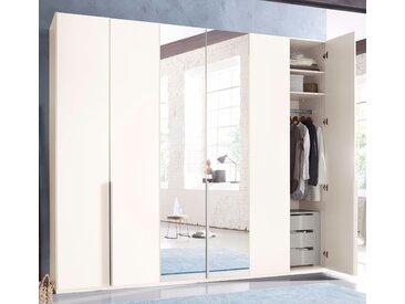 Wimex Kleiderschrank »New York« mit Schubkasteneinsatz und Einlegeböden, weiß, 270 cm x 236 cm x 58 cm