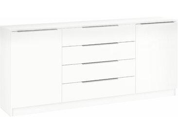 borchardt Möbel Kommode »Oliva«, Breite 166 cm, mit 4 Schubkästen, weiß