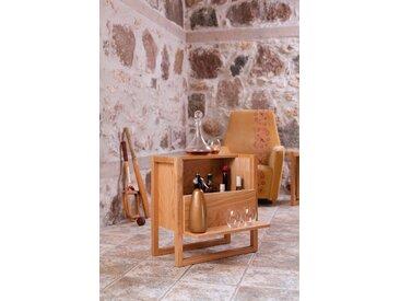 Woodman Barschrank »New Est« Breite 60 cm, eine kompakte und vielseitige Ergänzung, beige
