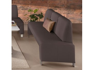 exxpo - sofa fashion Polsterbank, braun, NaturLEDER®