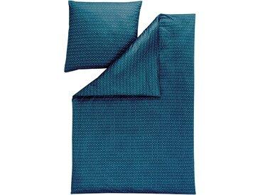 Estella Kissenbezug »SILAS«, absolut bügelfrei!, blau, 80 cm x 40 cm
