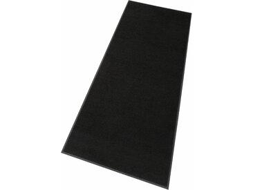 Läufer »Original Uni«, wash+dry by Kleen-Tex, rechteckig, Höhe 9 mm, Schmutzfangläufer, Schmutzfangteppich, Schmutzmatte, In- und Outdoor geeignet, waschbar, schwarz, 120 cm x 180 cm x 9 mm