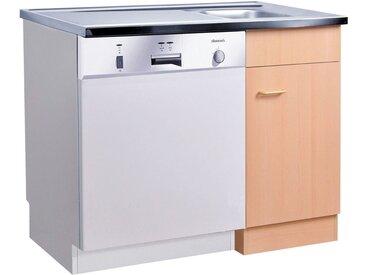 HELD MÖBEL Spülschrank »Elster« für Unterbau-Geschirrspüler, ohne Möbelfront B/H/T: ca. 100/60/85 cm, beige