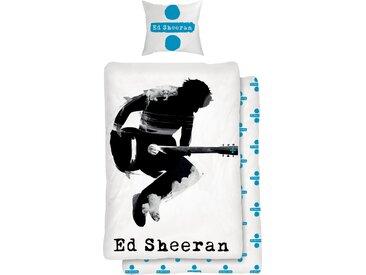 Kinderbettwäsche »Musician«, für Ed Sheeran Fans, Neckermann, blau