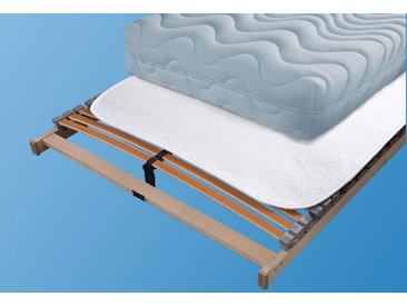 Topper »Nadelfilz«, SETEX, Kunstfaser, weiß, 90 cm x 200 cm