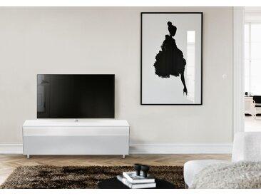 SPECTRAL Lowboard »SCS«, mit Soundbarablage, wahlweise mit TV-Halterung, Breite 165 cm, weiß