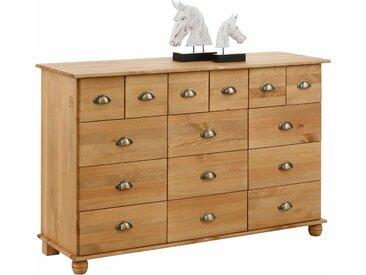 Home affaire Kommode »Anoushka«, wahlweise mit 5, 10, 12 oder 15 Schubladen, beige, 133 cm