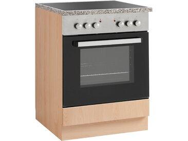 wiho Küchen Herdumbauschrank »Kiel« 60 cm breit, beige