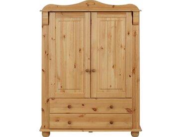 Home affaire Mehrzweckschrank »Adele« aus massiver Kiefer, beige, 100 cm x 135 cm x 40 cm