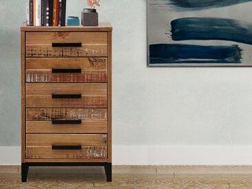 Home affaire Kommode »Santo«, Breite 42 cm, braun