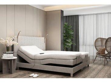 Westfalia Schlafkomfort Boxbett, mit Motor und LED-Beleuchtung, grau