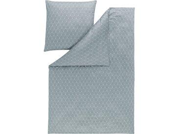 Estella Kissenbezug »TIZIAN«, absolut bügelfrei!, silber, 80 cm x 40 cm