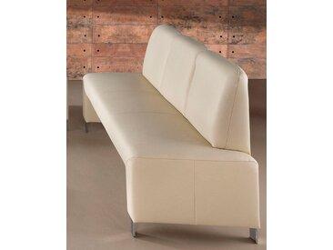 exxpo - sofa fashion Polsterbank, beige, NaturLEDER®
