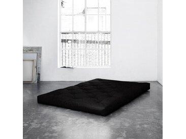 Futonmatratze, Karup Design, 18 cm hoch, schwarz, 160 cm x 200 cm x 18 cm