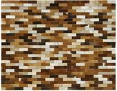 Handgefertigter Teppich Patchwork